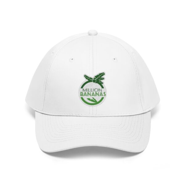 Personalize Embroidered Unisex Twill Hat | Million Bananas